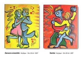 Dansons ensemble,  Samba