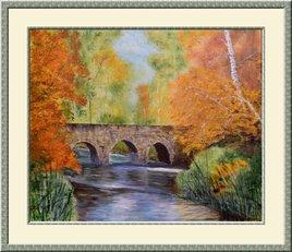 Pont Romain sur l'Angillon