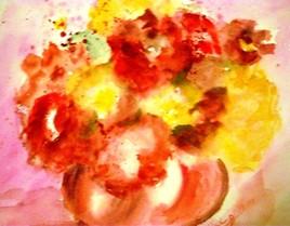 bouquet au mille couleurs