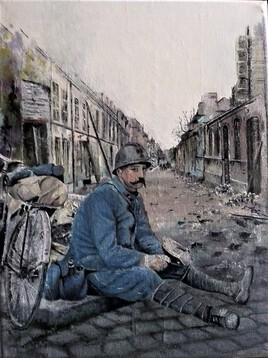 Déjeuner de poilu 1 Avril 1917