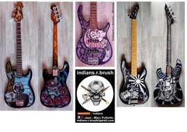 guitar airbrush custom design N1