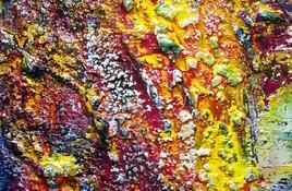 abstrait volcanique - fragment 01