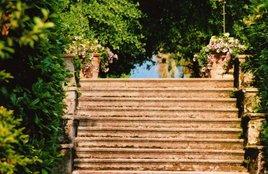 Escalier à Isola Madre