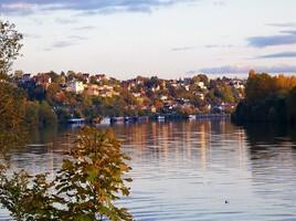 l'automne au bord de l'eau ..