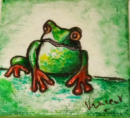 La grenouille de Nicole