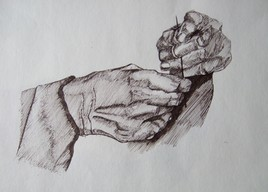 Les mains de couturière