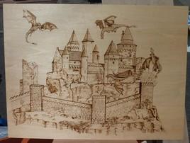 Château et dragons