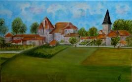 """Suaux (Charente) """"Chateau du XVIè siècle"""""""