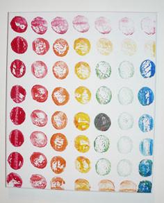 Spots colorés