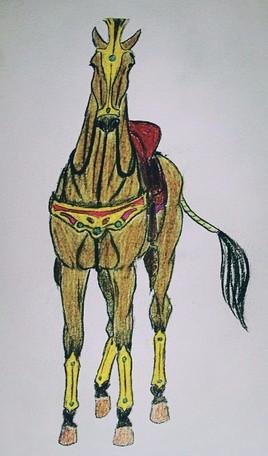 Persan horse