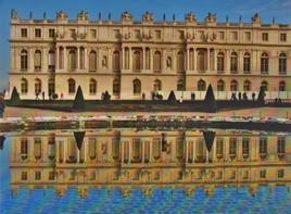 Versailles .. reflets symétriques