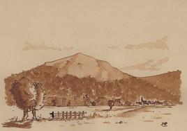 Brou de noix - Le village