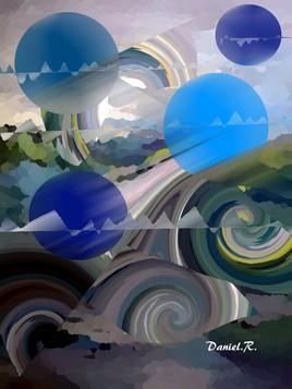 symphonie bleue ...