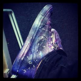 La galaxie au pied