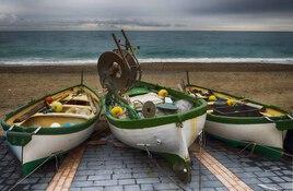 Barque en Sicile  - Le fichier 20€ - Tirages tous formats voir mon site sur mon profil
