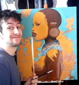 African Girl Par EFART: Elkechai Fayçal ART