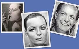 Dessin portraits de Romy Schneider