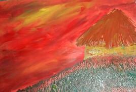 La case au ciel rouge