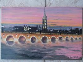 Le Pont de Pierre a Bordeaux