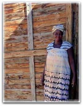 Femme de Namibie.