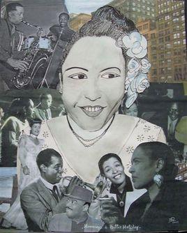 Hommage à Billie Holiday