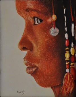 visage d'afrique