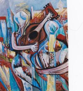 """""""Guitariste"""" 2003"""
