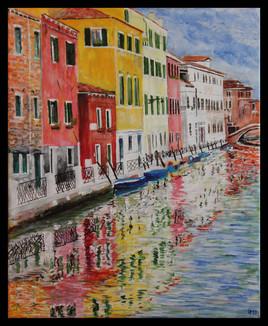 Venise - Fondamenta del rio marin...