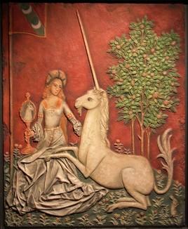 La dama y el unicornio.