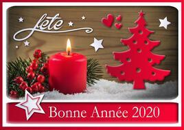 142-BON REVEILLON ET BONNE ANNEE 2020
