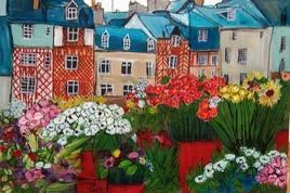 Marché aux fleurs Rennes