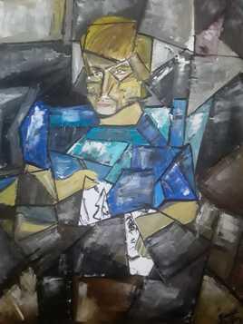 Le dessinateur, portrait fragmenté