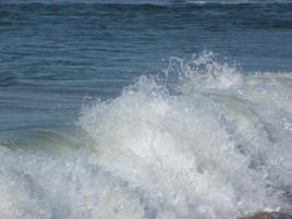 La vague et la mer