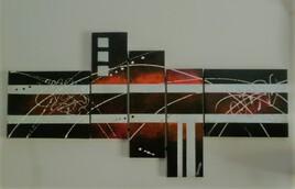les cinq toiles