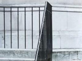Un escalier de l'église russe de la rue Darue Paris 8 ème