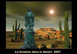 La fontaine dans le désert