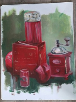 Nature morte Rouge