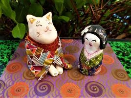 Kokeshi et Neko