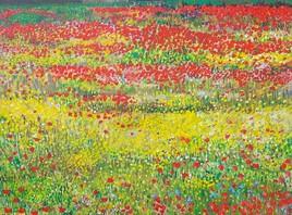 jaune fleurs des champs