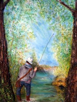 La patience du pêcheur