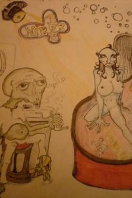 """alien bar """" the nibar bar"""""""