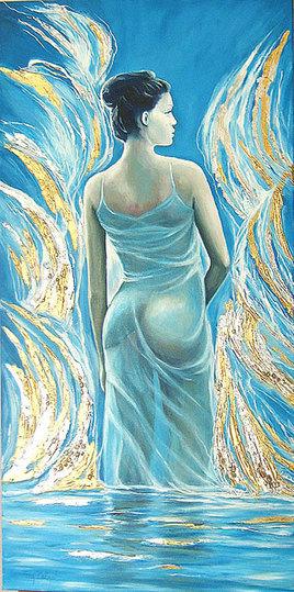 La robe mouillée