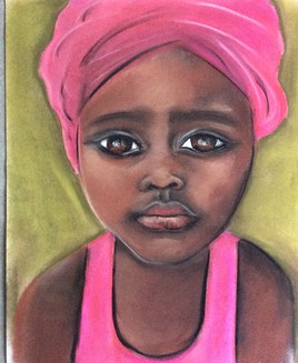 Jeune femme africaine