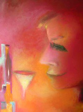 Peinture Seul à Venise
