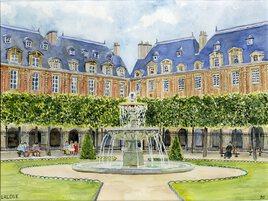 2020-10 Paris Place des Vosges