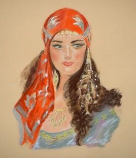 jeune femme turque