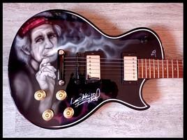 Guitar airbrush