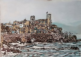 Antibes, les remparts