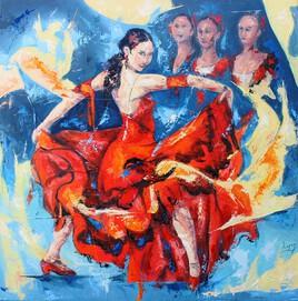 Flamenco aux 3 prétendantes