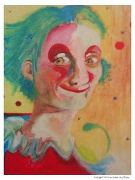 Autoportrait au clown